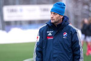 KIK–tränaren, Björn Lindén.