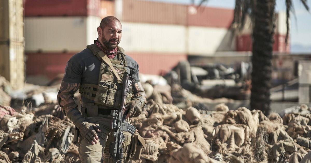 """The army of the dead"""": Stendött stöldgods från andra filmer"""