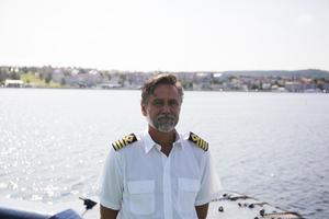 Göran Forss, befälhavare på Atle.