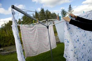 Rattfylleristen behövde tvätta kläder.