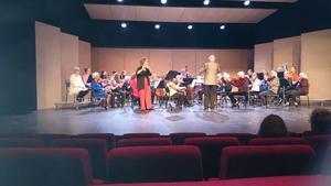 Säbrå orkesterförening med solist Lovisa Molin