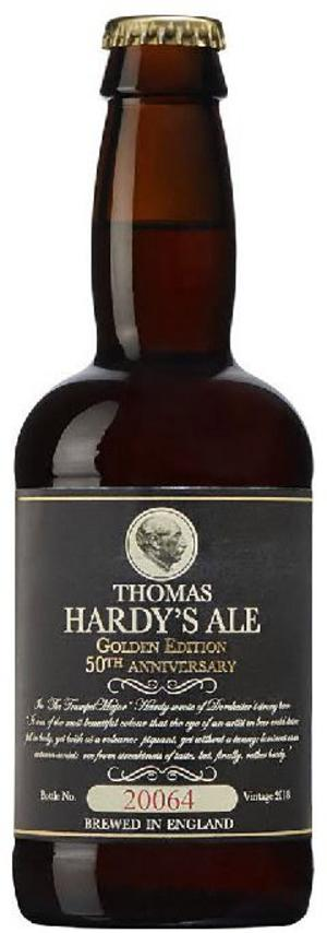Thomas Hardy's Ale Golden Edition 50th Anniversary 2018.