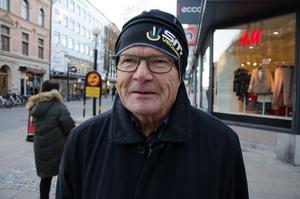 Ivar Wikström, 70+, pensionär, Sundsvall:
