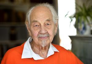 Barnboksförfattaren Lennart Hellsing skulle ha fyllt 100 år den 5 juni. Foto: HENRIK MONTGOMERY / TT