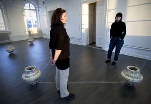 Camilla Bergman och Ann Rosén har tillsammans skapat verket