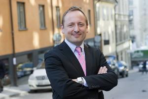 Thomas Peterssohn, vd för Mittmedia.