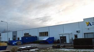En lokal på Islingby industriområde byggs om.