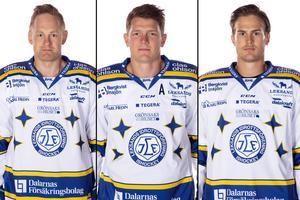 Mattias Ritola, Patrik Zackrisson och Sebastian Wännström. Foto: Pelle Börjesson/Bildbyrån