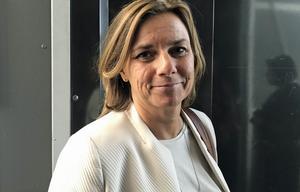 Språkröret Isabella Lövin (MP) , bördig från Avesta, fortsätter som klimatminister.
