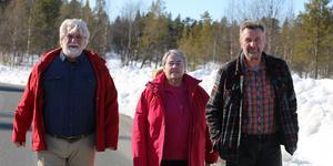 Stefan Torssell, Inga Wall och Olle Larsson träffades i Ränningsvallen.