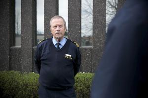 Stefan Dangardt är polisen presstalesperson i Dalarna. Foto: Mikael Hellsten/arkiv