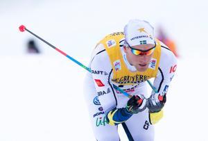 Daniel Rickardsson i Val di Fiemme i januari.