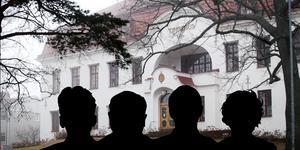 Den misstänkte kvartetten har suttit häktade i drygt två veckor med fulla restriktioner.