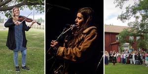 Folkärna folkfest arrangeras på hembygdsgården i Folkärna, en mil utanför Avesta. Det blir konserter, dans och sång. och  Foto: John Leander/Anton Ryvang/Gunnel Ollas