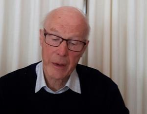 Tryggve Persson föreläste om biologisk mångfald i naturen hos Bollnäs Senioruniversitet.