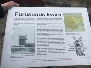 Furusunds kvarn användes för brännvinstillverkning och blev byggnadsminne 1985. Den har renoverats två gånger, 1960 och 2009.