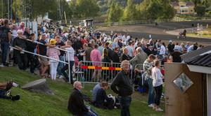11 132 personer besökte Bergsåkers travbana på lördagen.