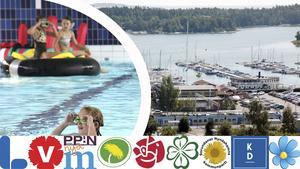 Om simhallen i Ösmo inte går att fixa kan en ny behöva byggas. Men var? Förutom Frejas holme i gästhamnen har Kvarnängen och Nicksta föreslagits som placering.