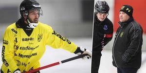 Niklas Gälman och Patrik Johansson.