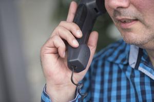 Konsumentverket får in allt färre anmälningar om att försäljare ringer till personer som är anslutna till spärrtjänsten Nix. Bilden är tagen i ett annat sammanhang.