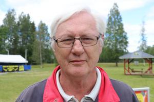 Gunnar Wallin, 68, pensionär, Ljungaverk.