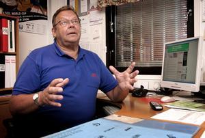 Generös. ICA Matmästers ägare Sven-Eric Jernemer är med rätta upprörd över att NLT inte gav honom berömmer för att han hade bästa priset på maten i PRO-undersökningen men generös som han är så avslöjar han att billigast i staden är Matmagasinet.
