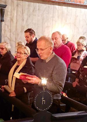 Björn Wallgren har bevistat 45 julottor i Barsviken.