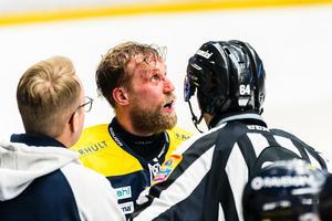 Martin Thörnberg var hårt bevakad i återkomsten.
