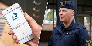 Johannes Persson, kommunpolis i Hudiksvall, uppmanar till försiktighet och att aldrig lämna ut personliga uppgifter över telefon.