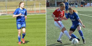 Linnea Strand och Blossom Davis har imponerat i HSK under säsongen.