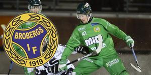 Robert Rimgård är klar för Broberg och har skrivit kontrakt över kommande säsong.