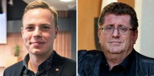 Sebastian Karlberg och Jan Bohman får beröm för sina insatser att joursjukvården ska ligga kvar i Borlänge i sommar.