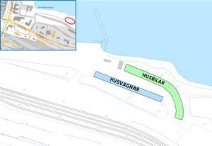 Foto: Sundsvalls kommunParkeringen vid utsiktsplatsen Sundsvallsbron kommer att rymma cirka 10 husvagnar och 4 stycken husbilar.