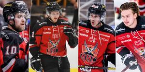 Jonas Lindström, Sebastian Manberg, Conny Strömberg och Martin Naenfeldt.