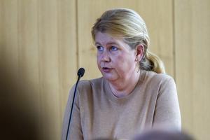 Oppositionsrådet Anna-Lena Vestin (V) önskade att debatten om arbetsmiljö skulle blivit lite längre.