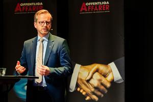 Inrikesminister Mikael Damberg uppmanas att låta SD vara med i diskussionerna om våldet i Sverige. FOTO: Anders Bjurö/TT