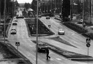 1973 var det dags för ännu en nymodighet på Rådhusgatan.
