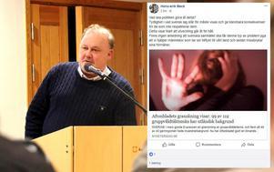 Hans-Erik Beck (M) säger att syftet med den risade och rosade delningen var  lyfta fram ett ämne inte så mycket som ett innehåll.
