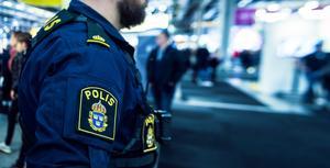 Även inom polisen och väktarkåren finns det strukturella rasismen. De branscherna är troligtvis inte värre än andra men det kan uppfattas så då våld är en del av deras vardag och arbete, skriver debattförfattaren. Foto: Hanna Franzén/TT