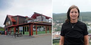 Mia Steringer som äger Grankotten tillsammans med sin man.