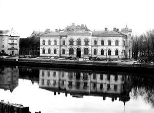 Gamla tullhuset revs 1969. Foto: Lasse Halvarsson