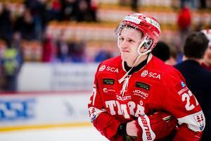 Johannes Kinnvall lämnar Timrå, och ansluter till HV. Bild: Pär Olert/Bildbyrån.