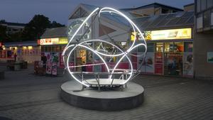 Nya konstverk lyser upp Pettersberg. Foto: Mikael Richter