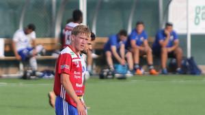 Simon Andersson gjorde BKV-debut mot Stocksund då han klev rakt in i startelvan och ersatte lagkaptenen Oskar Kiianlinna. (Arkivbild)
