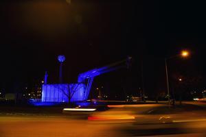 Krafttanken i Ludvika.