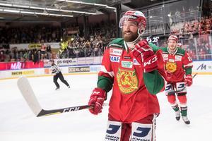 Andrew Rowe är en av de spelare som har utgående kontrakt. Bild: Daniel Eriksson/Bildbyrån
