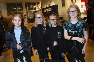 Vilgot Enheim, Freja Falbe, Iris Lindgren och Wilma Enheim var övertygade om att det skulle bli kul.