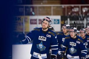 Martin Vaakanainen var en av sex olika målskyttar i IFK Arboga. Foto: David Eriksson