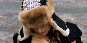 Köp inte en mössa eller andra plagg med päls från djur, uppmanar Henrik Scheutz. Arkivbild: Pontus Lundahl/TT