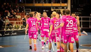 IBF Falun har gjort 95 mål på tio matcher. Det är nästan ett snitt på tio mål per match.